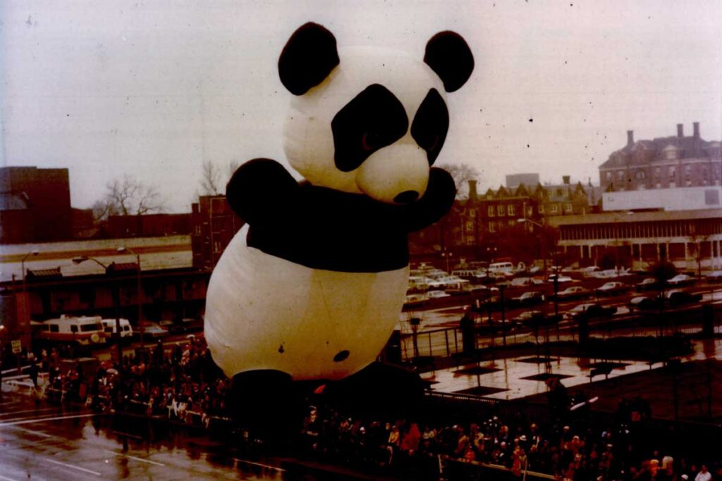 The Birth of An Industry: Giant Inflatables Take to the Sky