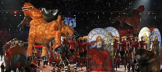 "Olympic Closing Ceremonies: ""Made in Canada"" Inflatables Contribute to Canada's Quirky Sense of Fun"