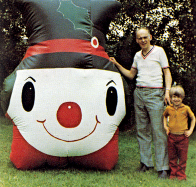 Jim and Steve Historic Snowman