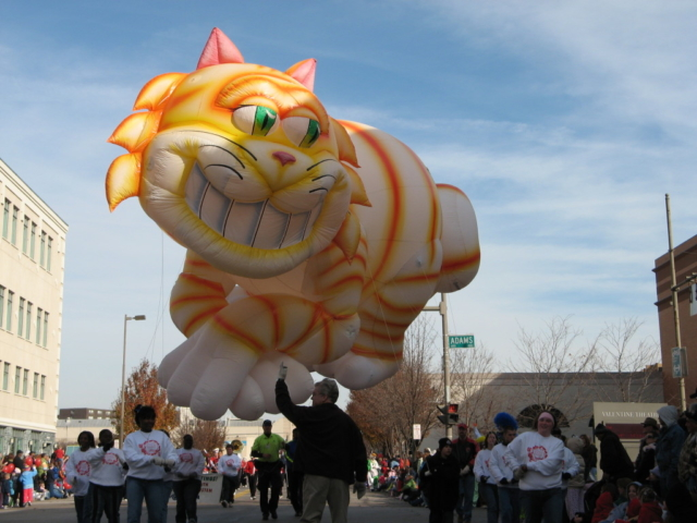 Cheshire Cat Parade Balloon