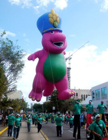 Barney Parade Balloon, 45'