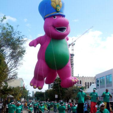 Barney Parade Float
