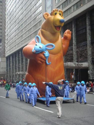 Bear in the Big Blue House Parade Balloon, 30'