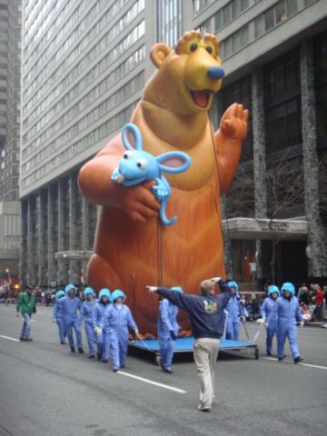 Bear in the Big Blue House Parade Balloon