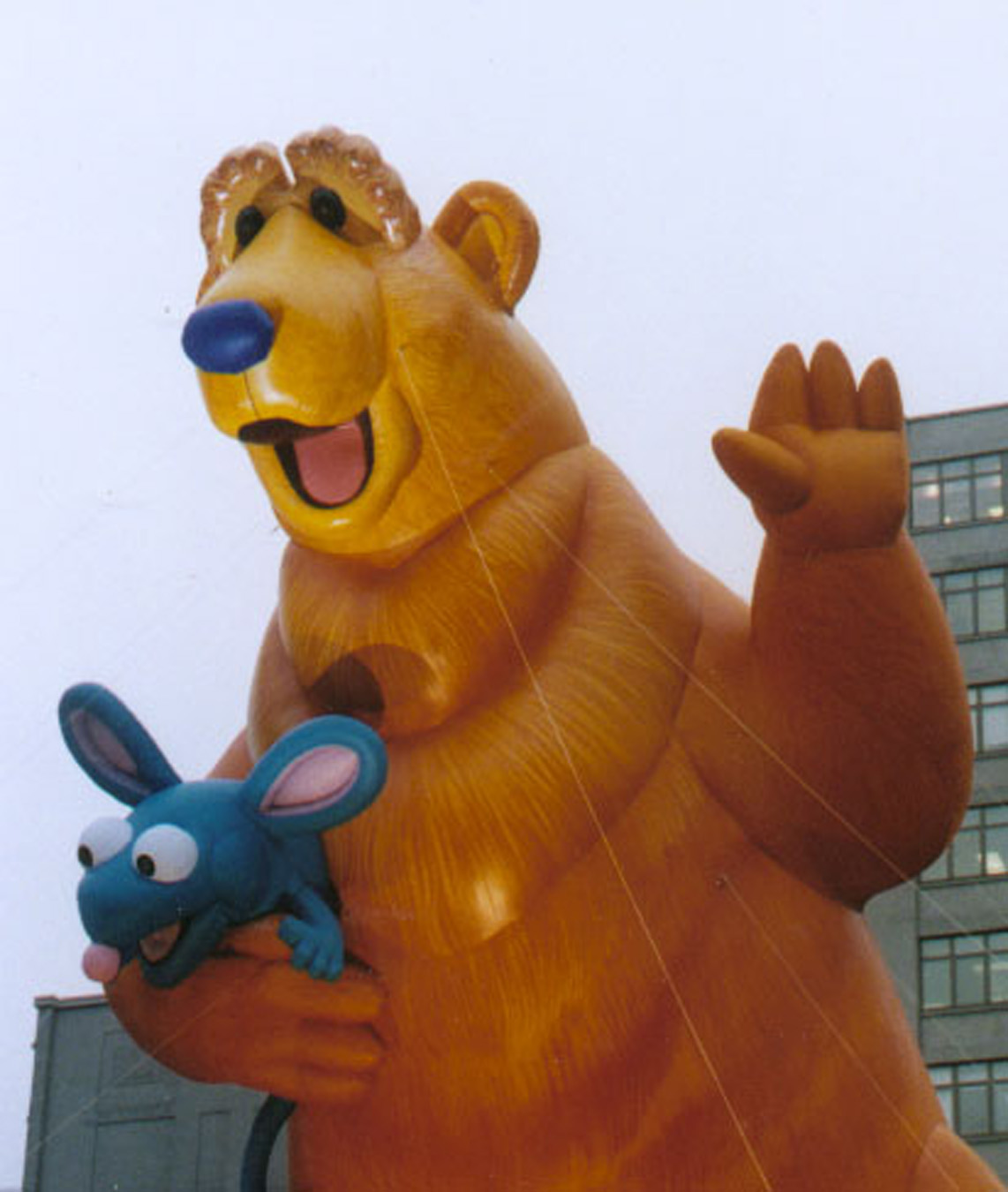 bear in the big blue house parade balloon fabulous inflatables