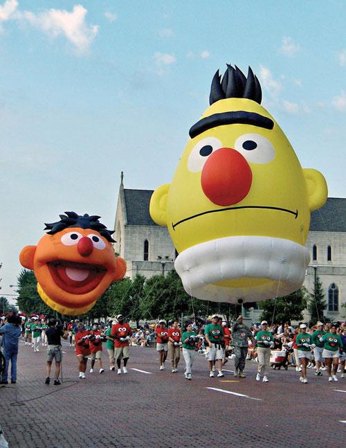 Bert & Ernie Parade Balloon