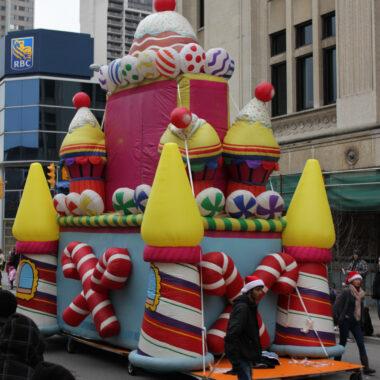 Candy Castle Parade Balloon