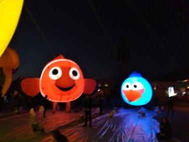 Clown Fish Lighted Parade Balloon