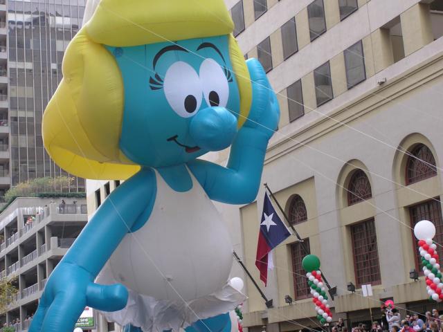 Smurfette Parade Balloon