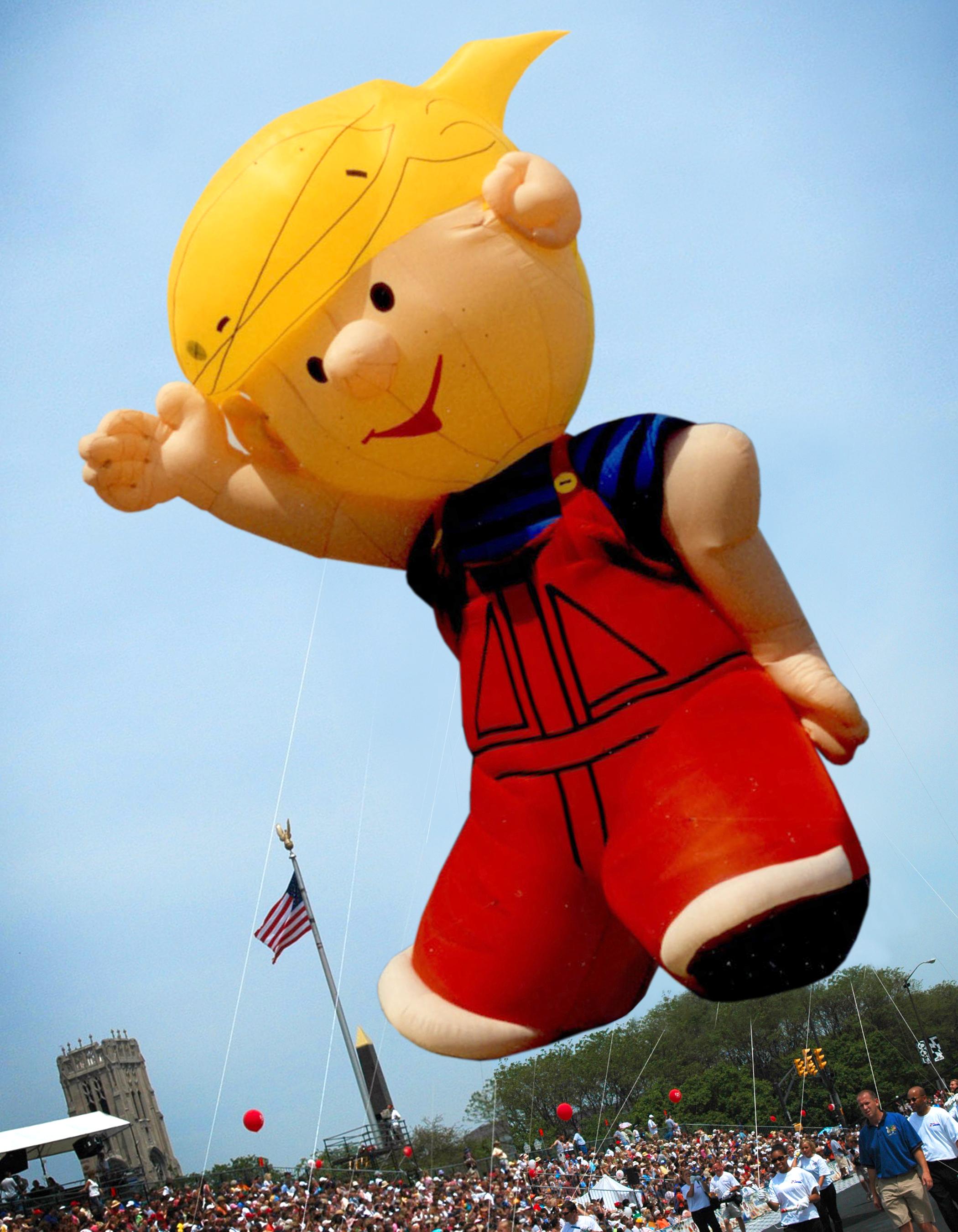 Dennis the Menace, Cartoon Parade Balloon