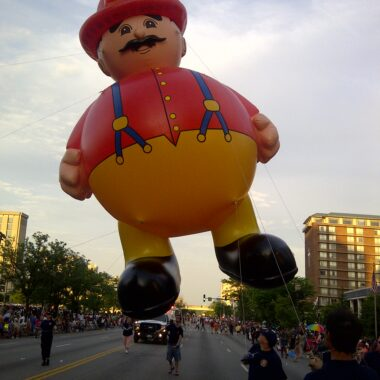 Fireman Parade Balloon