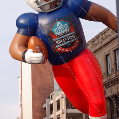 Football Player Parade Balloon Large