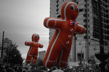 Gingerbread Cookie Parade Balloon, 30'