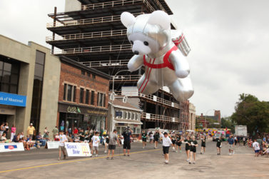 Astronaut Parade Balloon, Space Bear