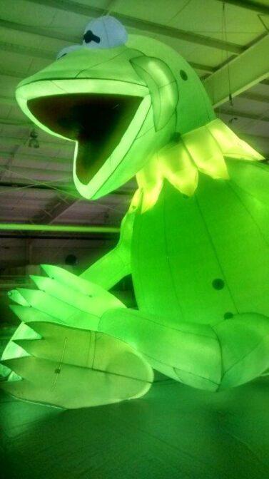 Kermit Lighted Parade Balloon