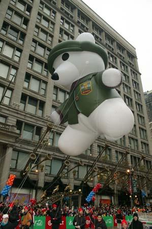 Irish Bear Parade Balloon