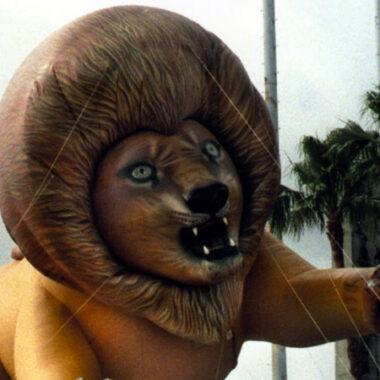 Realistic Lion Parade Balloon