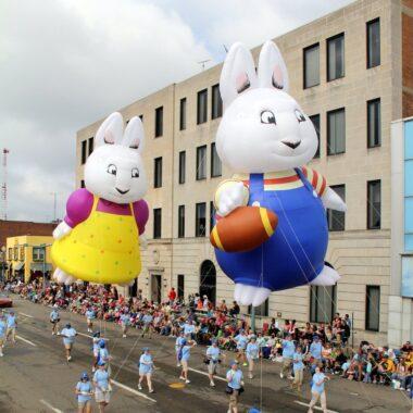Max & Ruby Parade Balloons