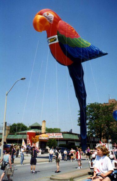 Parrot Parade Balloon