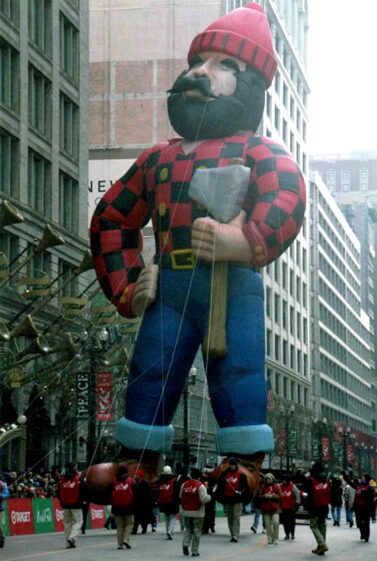 Paul Bunyan Parade Balloon