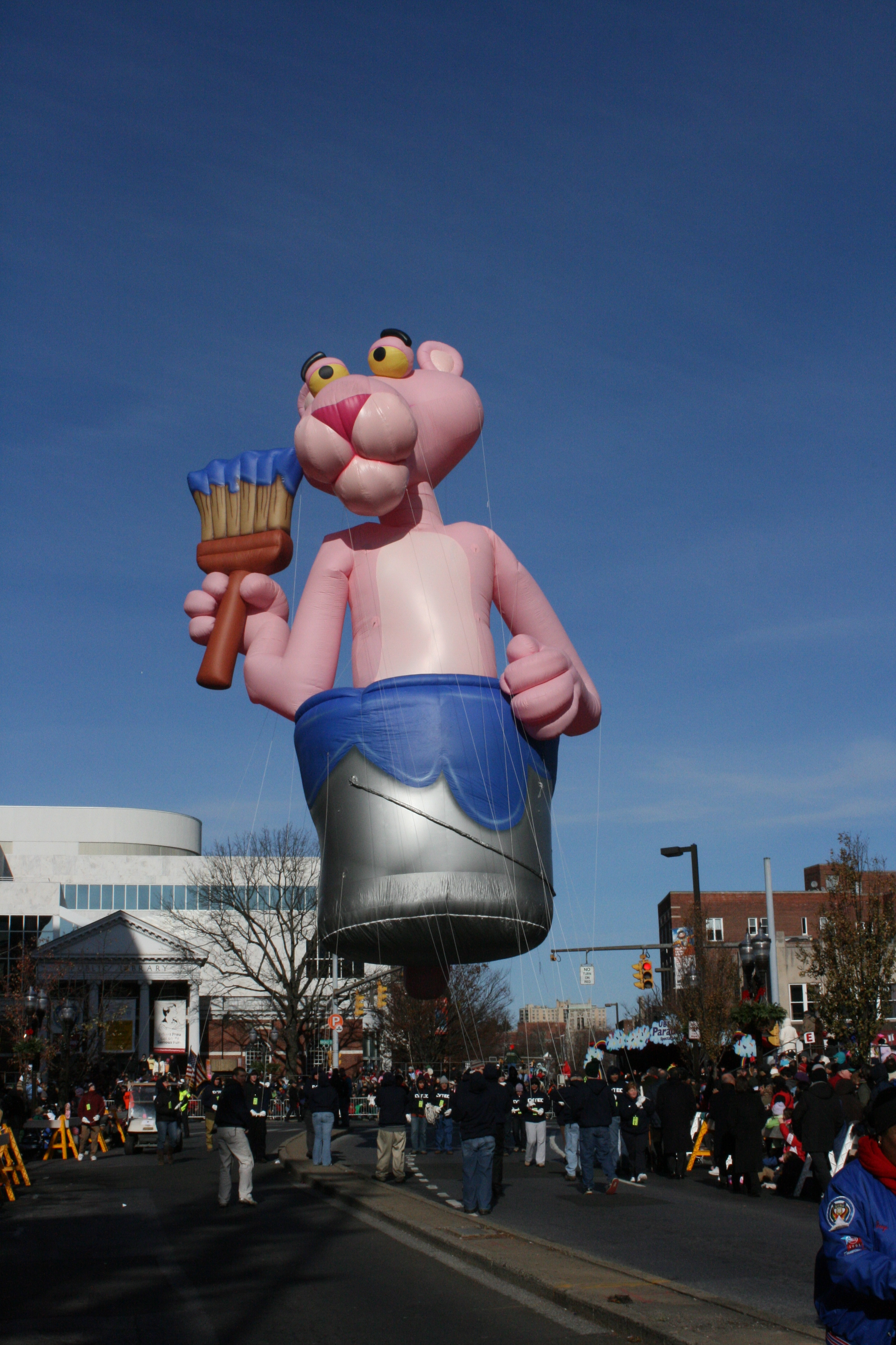 Pink Panther Parade Balloon Fabulous Inflatables