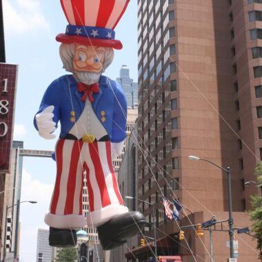 Uncle Sam Parade Balloon