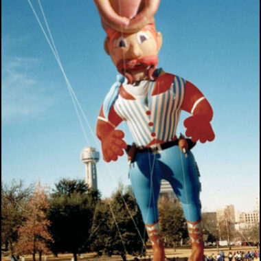 Six-Gun Sam, Cowboy Parade Balloon