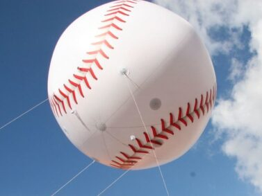 Baseball Parade Balloon (Small), 10'
