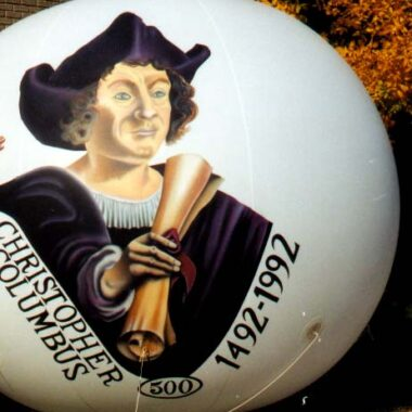 Christopher Columbus Parade Balloon