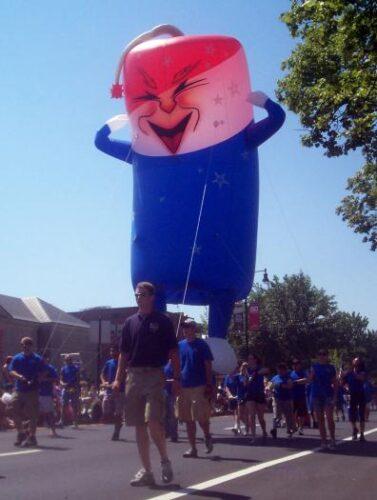 Freddy Firecracker Parade Balloon