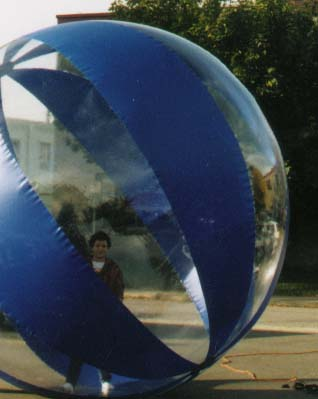Human Beach Ball Parade Balloon, 12'