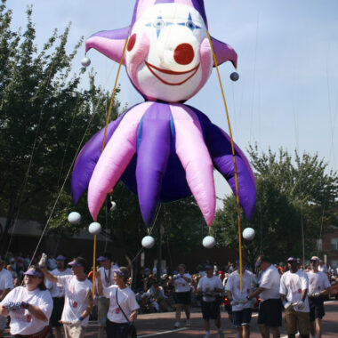 Jester Head Pole Unit, Parade Balloon