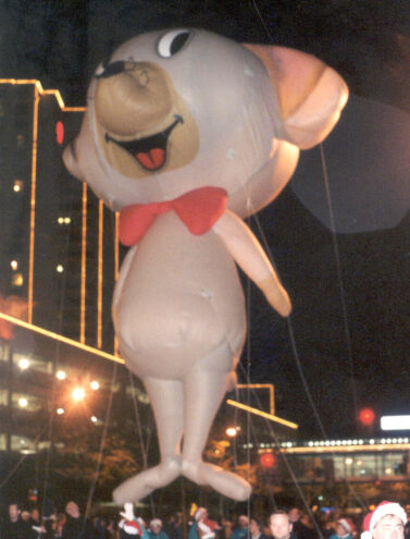 Dapper Mouse with Bow Tie Parade Balloon
