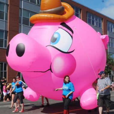 Piggy Bank Parade Balloon