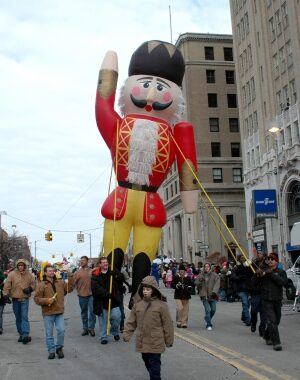 Nutcracker Parade Pole Unit