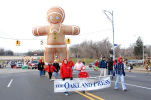 Gingerbread Kid Pole Unit