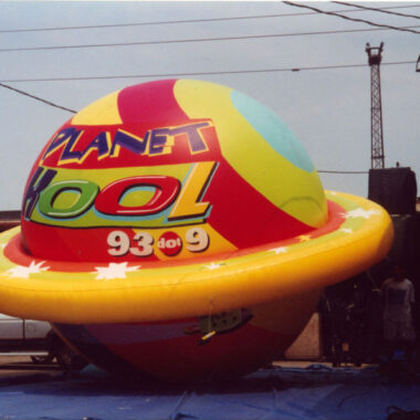 Rainbow Planet Parade Balloon