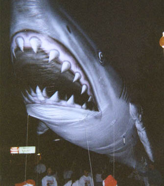 Shark Realistic Parade Balloon, 35'