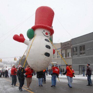 Frosty Snowman Pole Unit, 15'