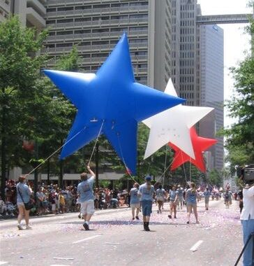 Stars Patriotic Parade Balloon, 13'