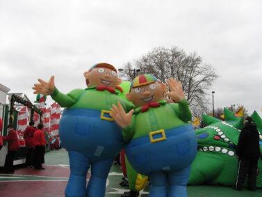 Tweedle Dee/Dum Inflatable Costumes