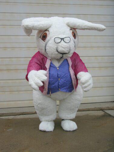 White Rabbit Inflatable Costume