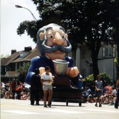 Alexander Graham Bell Telephone Parade Float