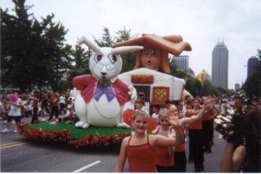 Alice Wonderland Parade Float