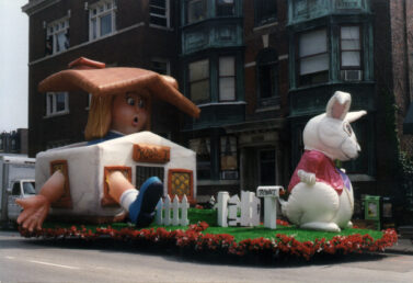 Alice in Wonderland CA Float
