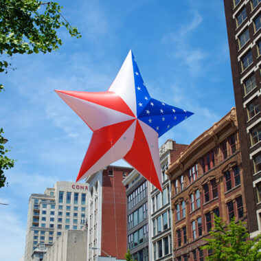 American Star Parade Balloon