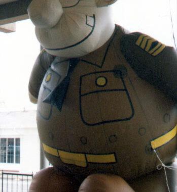 Army Sergeant Parade Balloon