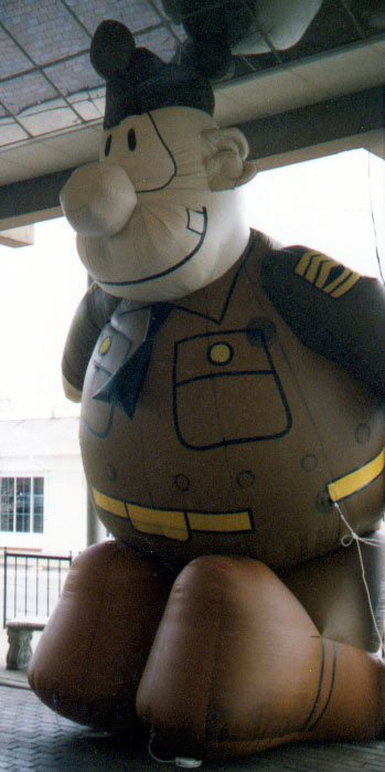 Army Sergeant Parade Balloon