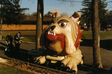 Bulldog Mini Parade Float