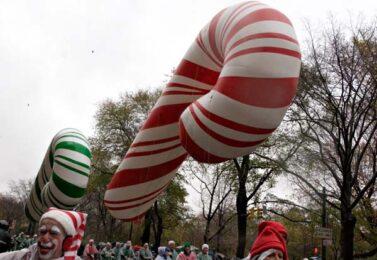Candy Cane Red Parade Balloon